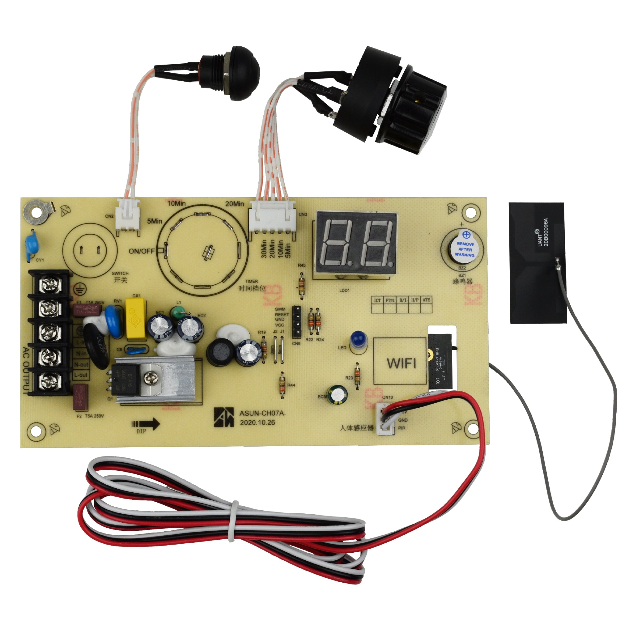 Replacement Control Board for UVC PureLight 360 Smart Sanitizer