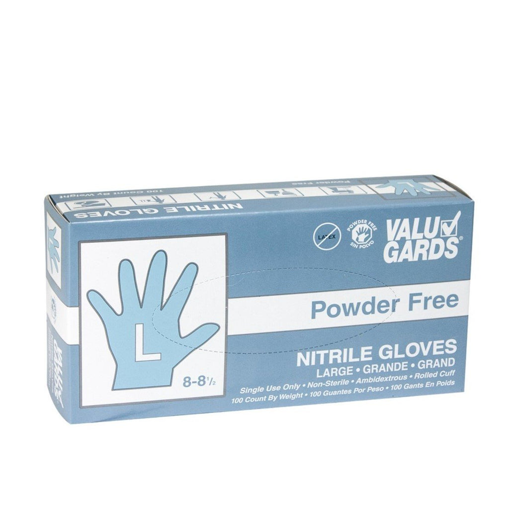 Nitrile Gloves - White (Box of 100) - Extra Large