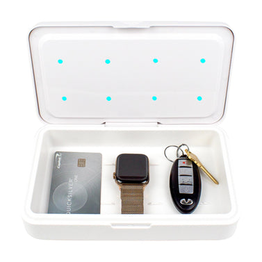 UVC Sanitizer with Credit Card, Smart Watch and Car Keys