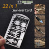 22-in-1 Fishing Gear Hook Card
