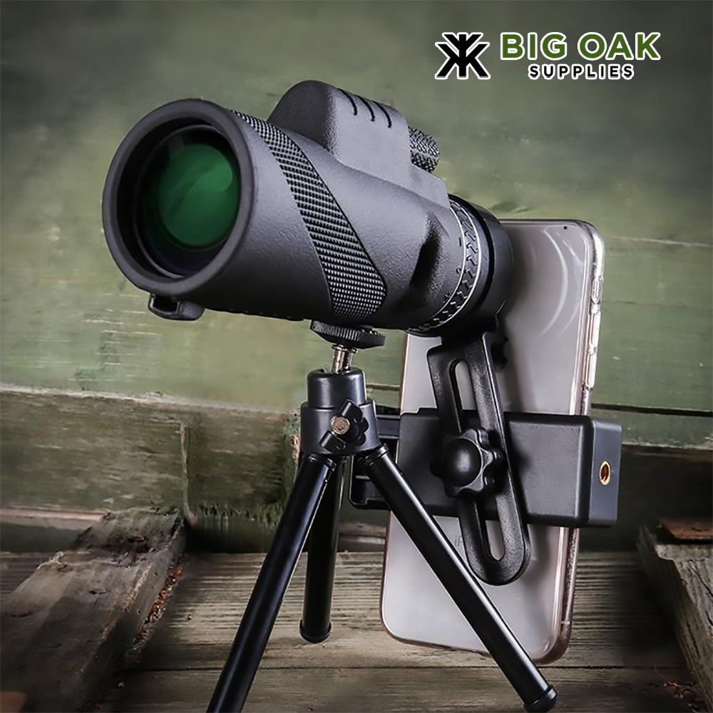 Spotting Scope with Smartphone Adapter