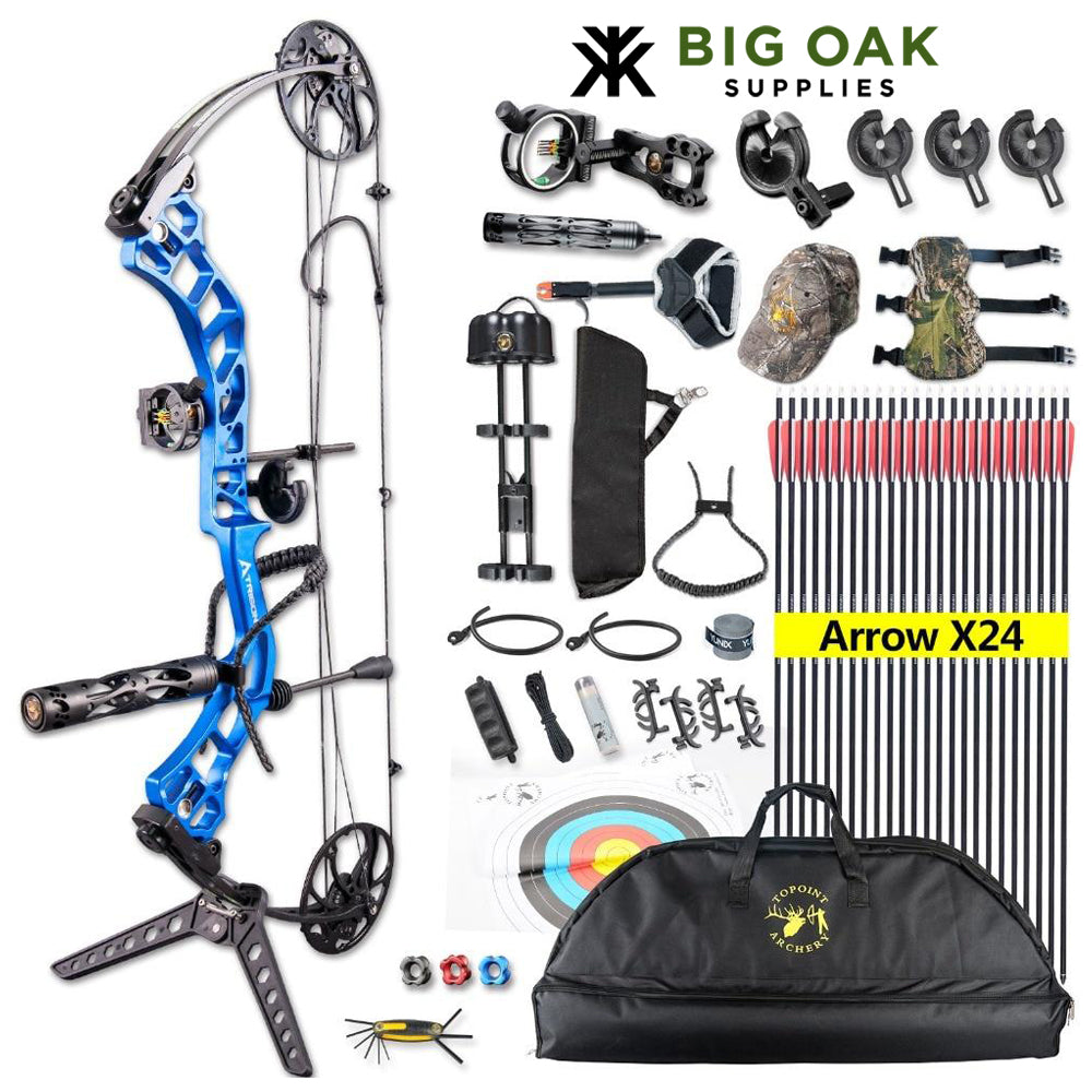 Topoint Right Hand Archery Set