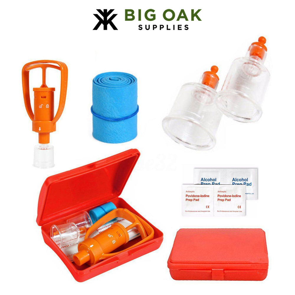 Venom Extractor First Aid Kit