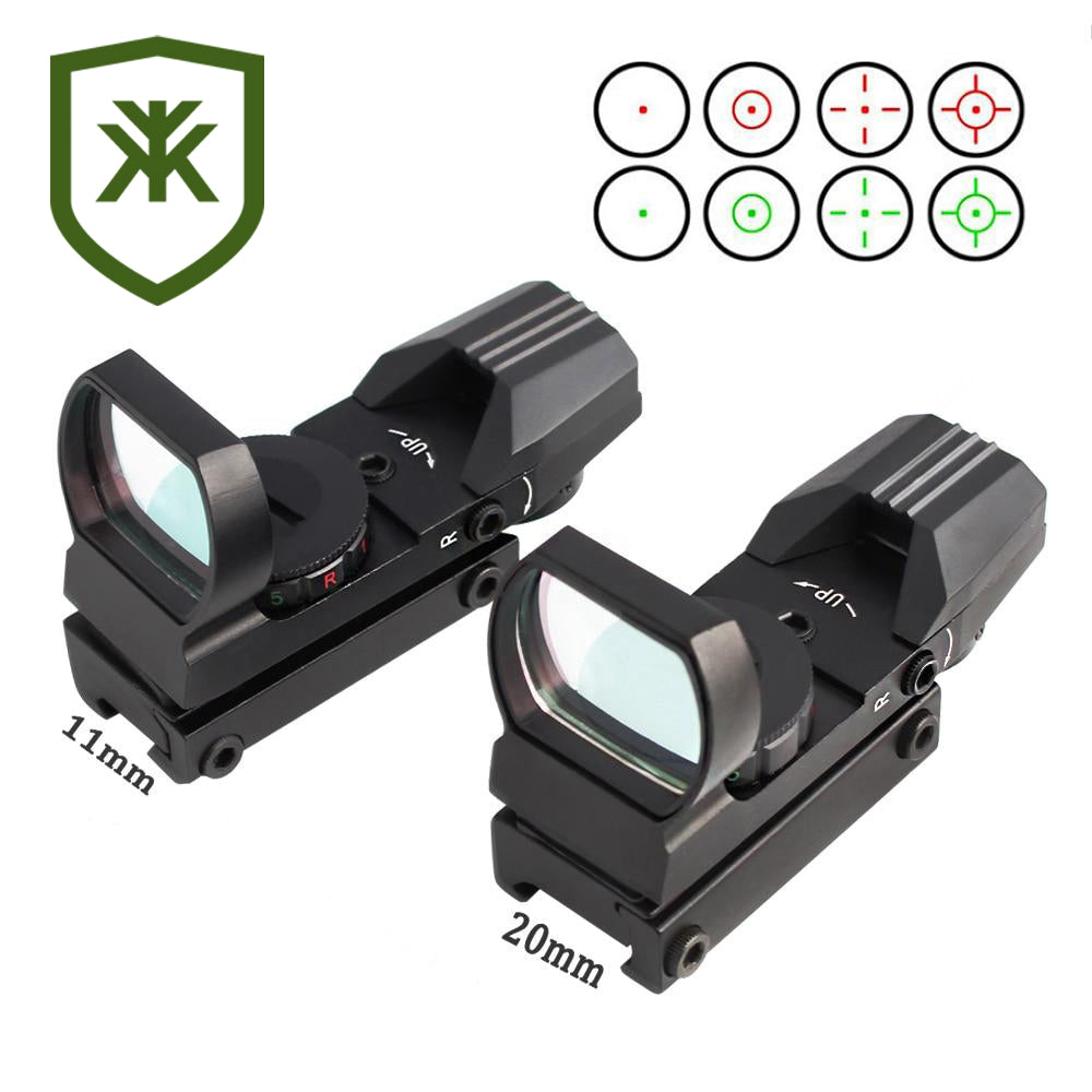 Hunting Rail Mount Rifle Cope Optics