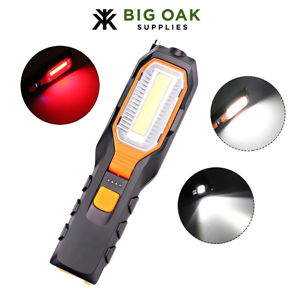 Rechargeable Magnetic Flashlight