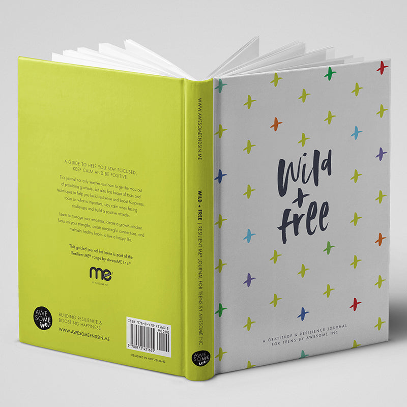 Resilient ME Gratitude Journal for Teens - Edition 3 (Ages 13+)