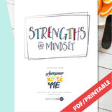 Strengths & Mindset | Resilient ME Printable