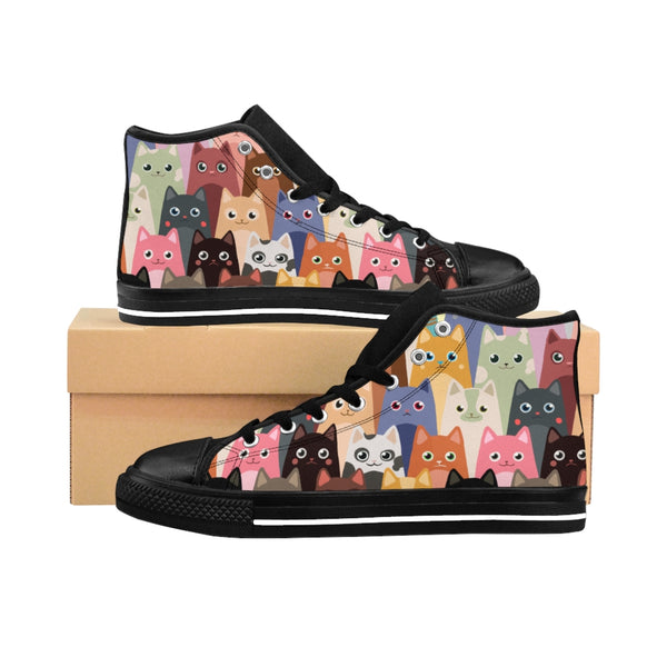 Men's Cat High-top Sneakers
