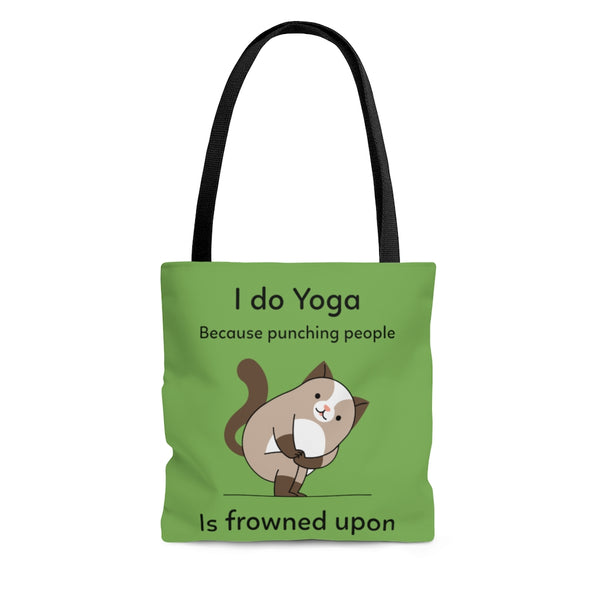 """I Do Yoga..."" Tote Bag"