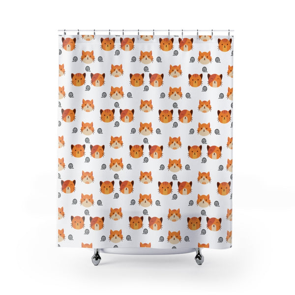 Kitty Shower Curtains