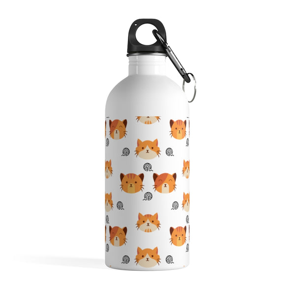 Kitty Stainless Steel Water Bottle