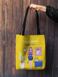 Less People More Cats (Illustration 1) Tote Bag