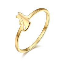 Stylish Cat Ring