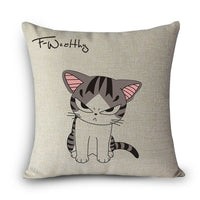 Cushion Cover with Jessie the Cat.