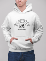 """Meowsome"" Unisex Hooded Sweatshirt"