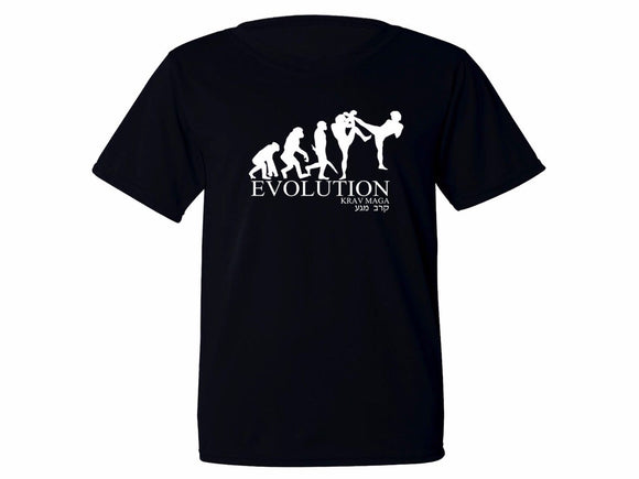 Evolution Krav Maga Polyester Moisture Wicking Tee