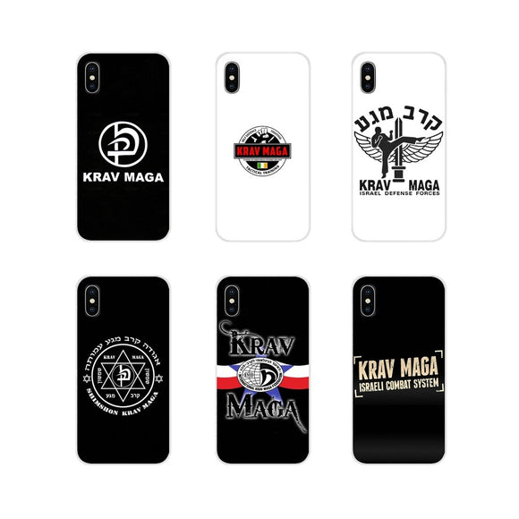 Krav Maga Phone Shell Covers For Samsung Galaxy S3 S4 S5 Mini S6 S7 Edge S8 S9 S10 Lite Plus Note 4 5 8 9