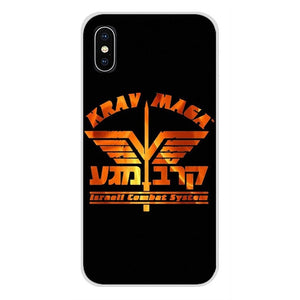 Krav Maga Accessories Phone Case Covers For Apple iPhone X XR XS MAX 4 4S 5 5S 5C SE 6 6S 7 8 Plus ipod touch 5 6