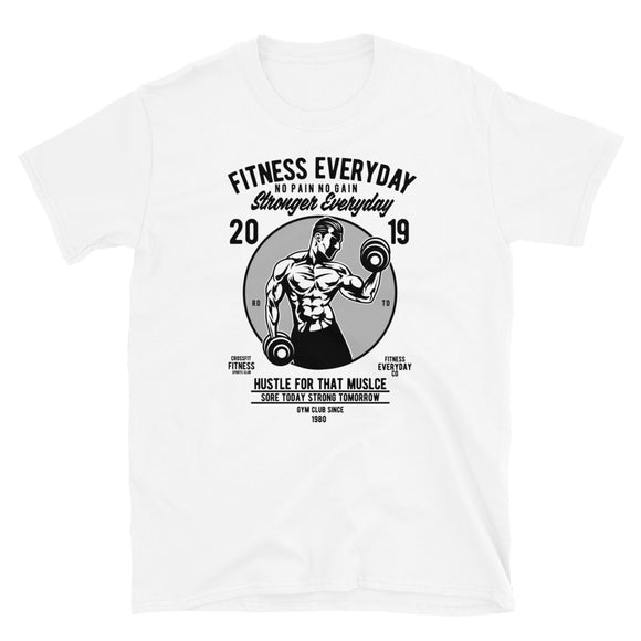 Fitness Everday Short-Sleeve Unisex T-Shirt