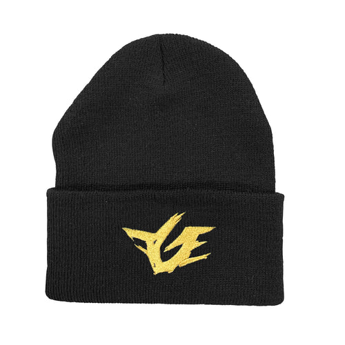 FGE Beanie (Gold Metallic Embroidery)