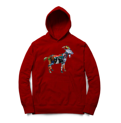 Montana Of 300 G.O.A.T Hoodie (Red)