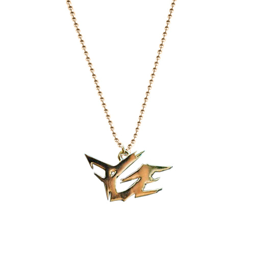 FGE Pendant Necklace (Gold Plated)