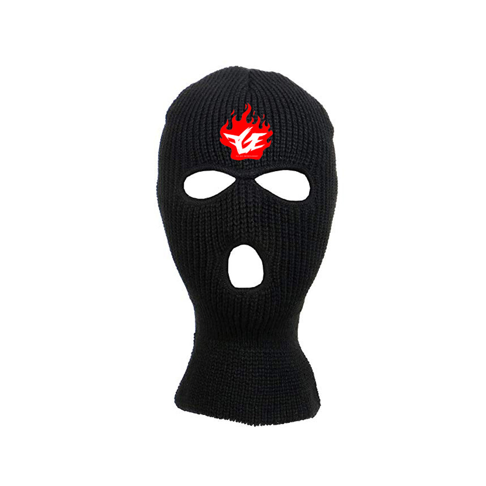 Black Friday Ski Mask (Black/Red/White)
