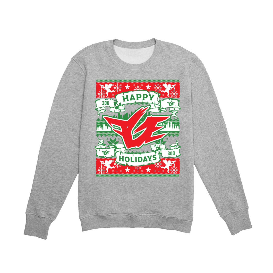 FGE 2020 UGLY HOLIDAY SWEATER (Heather Grey)