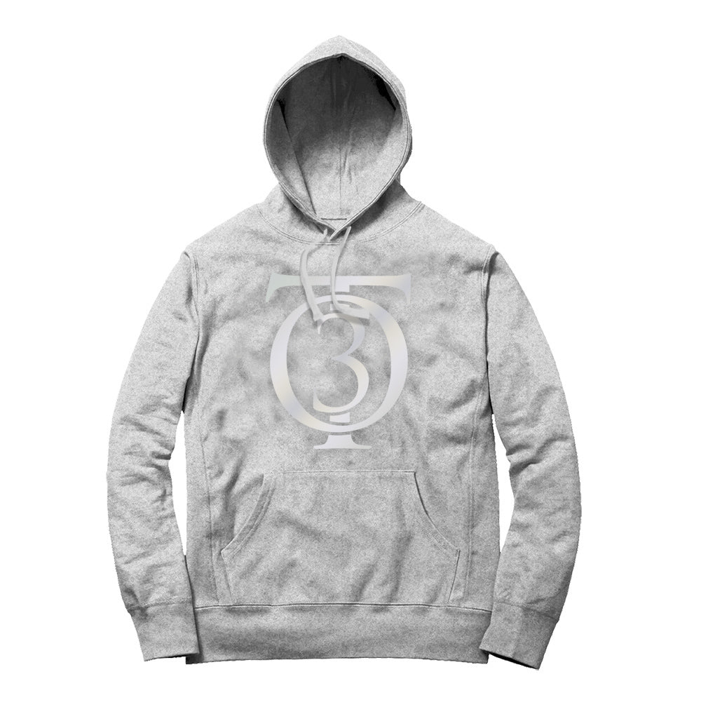 TALLEY OF 300 REFLECTIVE HOODIE (Heather Grey/Silver Reflective)