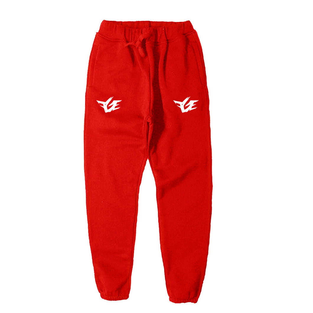 FGE Joggers (Red/White)