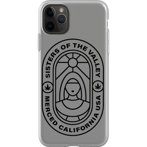 Sisters of the Valley stained glass phone case