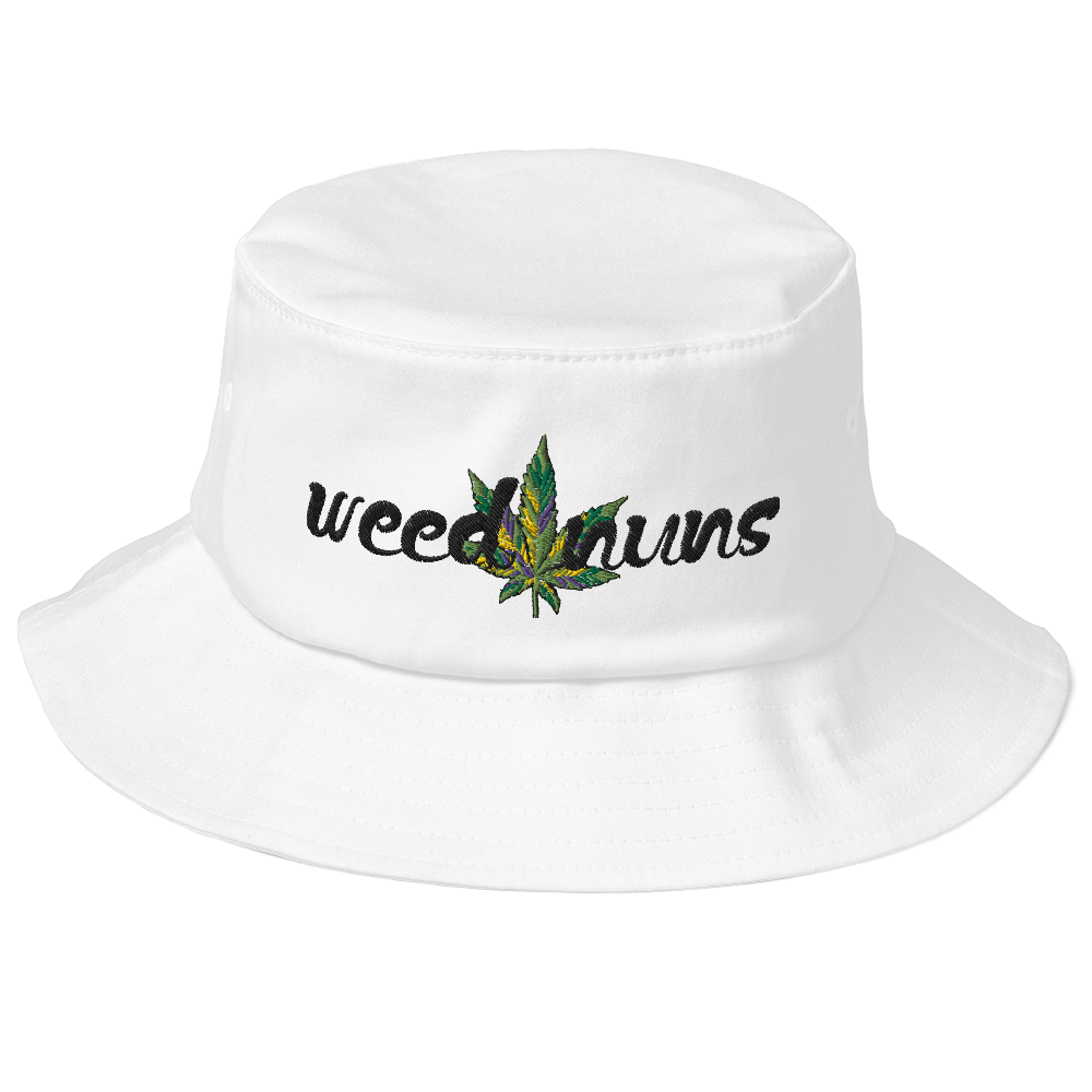 Weed Nuns Old School Bucket Hat