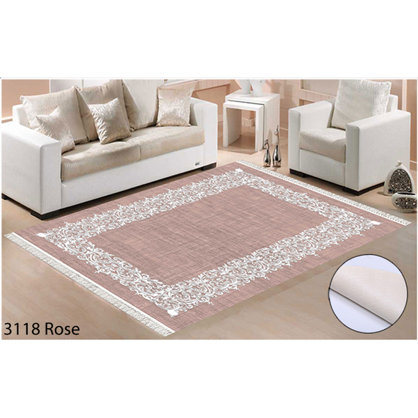 Tapis Berlin rose