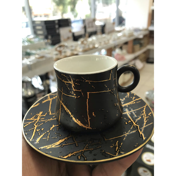 Ensemble de 6 tasses à café