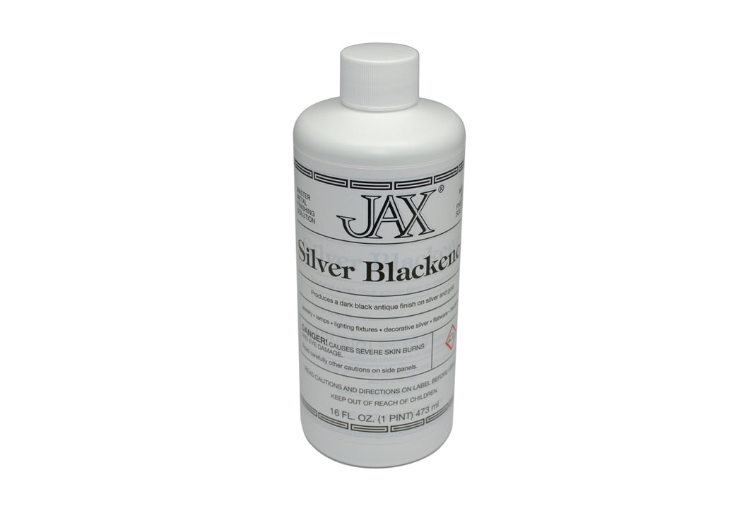 Jax Silver Blackener Pint