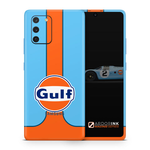 Samsung Galaxy S10 Lite Gulf Racing Full Coverage Skin Kit - ArdorInk