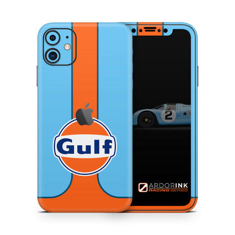 Apple iPhone 11 Gulf Racing Full Coverage Skin Kit - ArdorInk