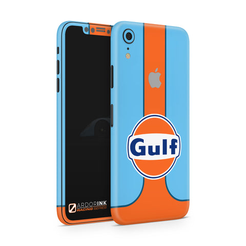 Apple iPhone XR Gulf Racing Full Coverage Skin Kit - ArdorInk