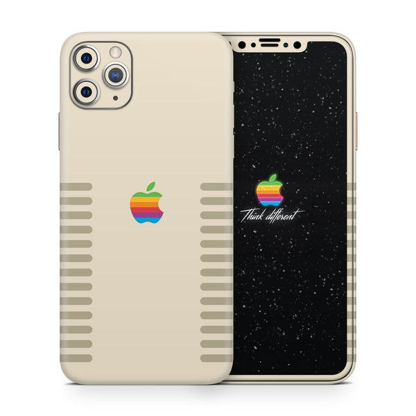 iPhone 11 Pro Max Apple Retro Full Skin Kit