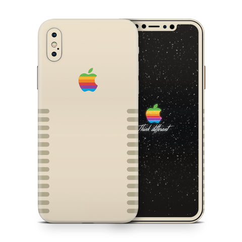iPhone XS Max Apple Retro Skin Kit