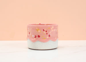 *SOLD OUT* Peachberry Fluff Drippy Cup
