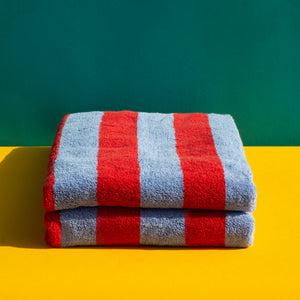 *SOLD OUT* Warm Stripe Bath Towel