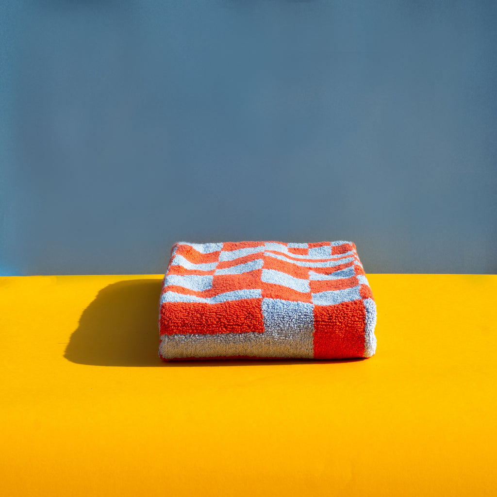 Check Hand Towel