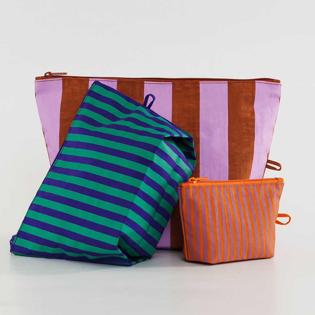 Piazza Striped Pouch