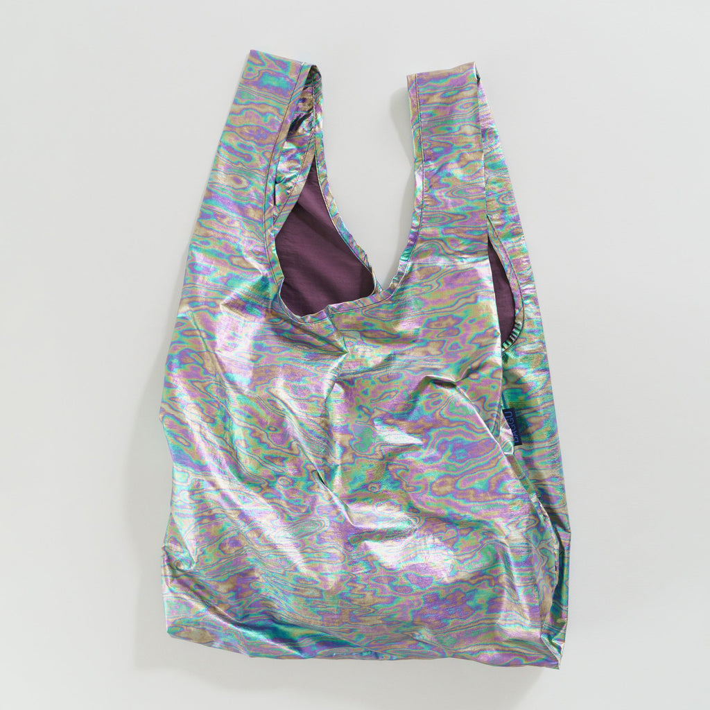 Rainbow Metallic Standard Reusable Bag