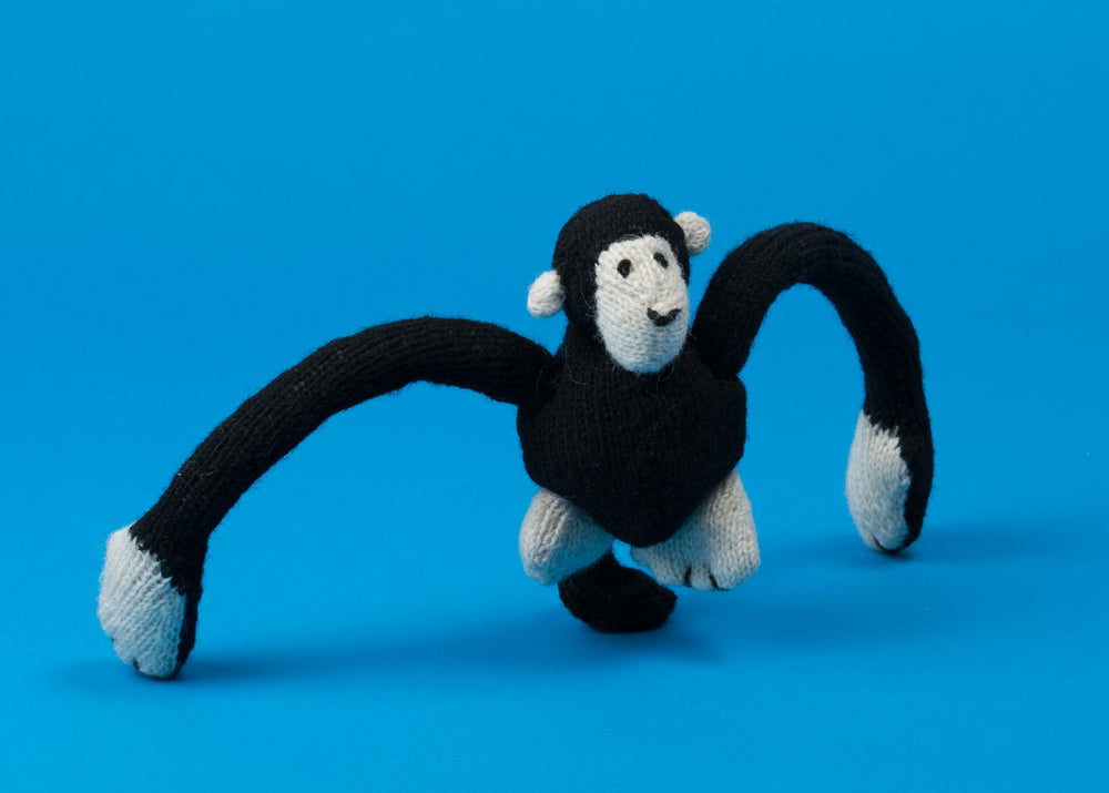 *PRE-ORDER* Hand Knit Monkey Dog Toy