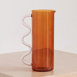 Amber Wave Pitcher
