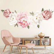 150-63 cm XL Peony Flowers Baby Nursery & Kid's Room Wall stickers in study