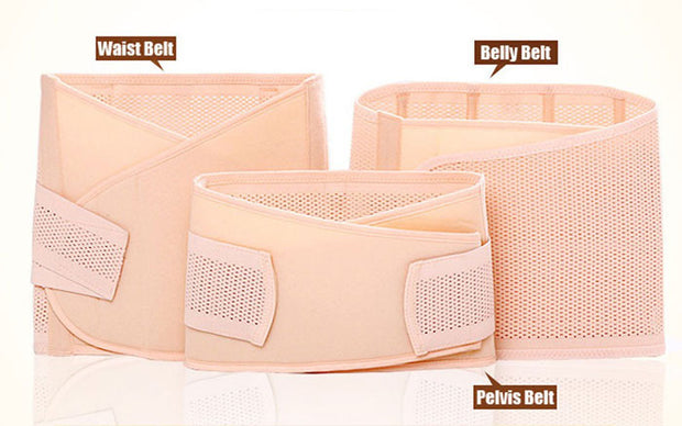 3 Piece Postpartum Pregnancy Belly Band