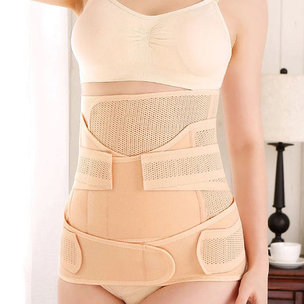 3 Piece Postpartum Belly Band front